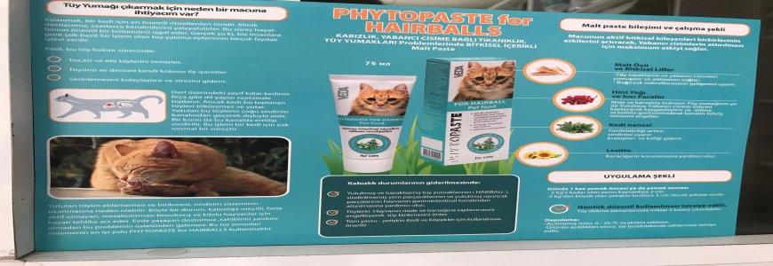 Vedavet Phytopaste For Hairball malt  pasta ait tanıtım resmi